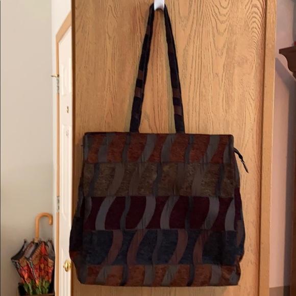 Roomy Tapestry Tote Bag